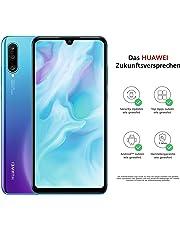 Huawei P30 lite Dual-SIM Smartphone Bundle (6,15 Zoll, 128 GB ROM, 4 GB RAM, Android 9.0) Peacock Blue + SD Karte [Exklusiv bei Amazon] - DE Version