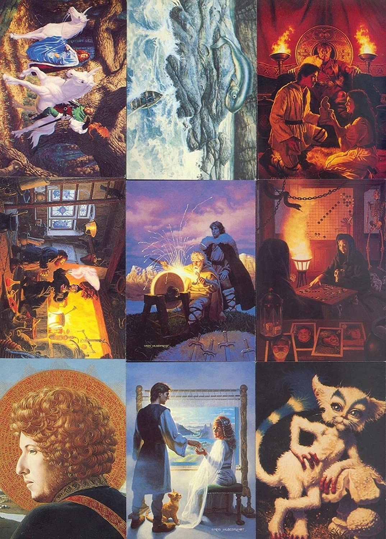 Greg  Hildebrandt II     30 Years Of Magic       90  Base Set   Trading Cards