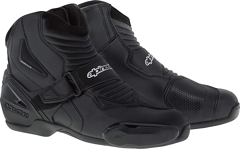 Black 42 Alpinestars SMX-1R Mens Motorcycle Boots