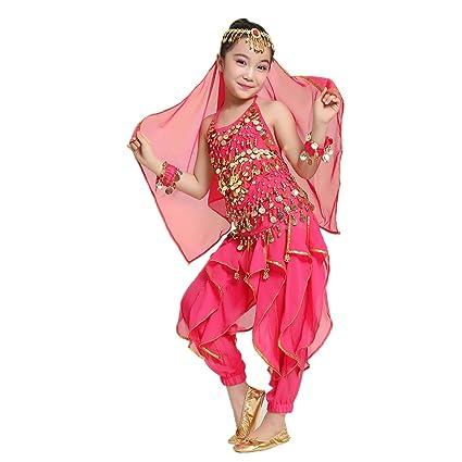 Buy MUNAFIE Children Belly Dance Costumes Fancy Party