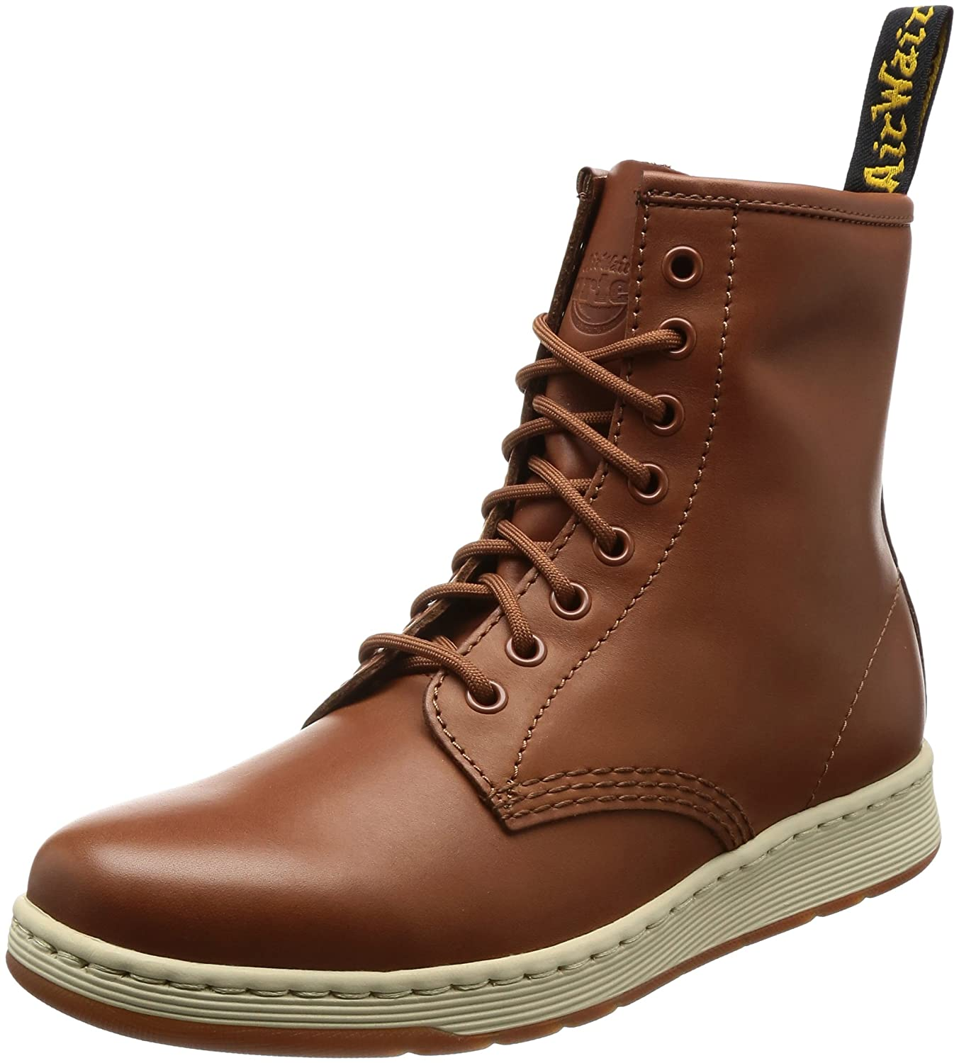 Dr. Martens Unisex Newton 8-Eye Boot B01MY3CO8O 4 M UK / 6 B(M) US|Oak