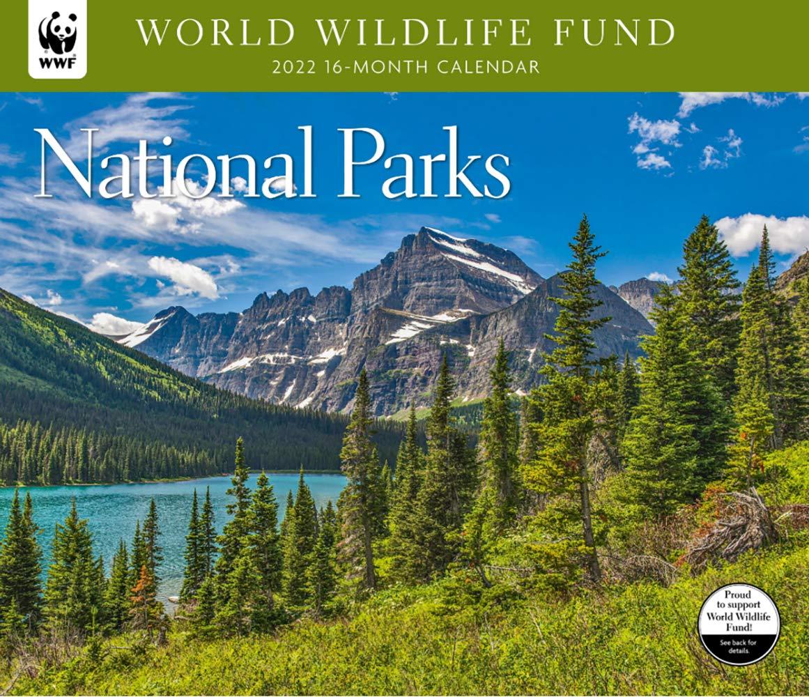 National Calendar 2022.National Parks Wwf 2022 Wall Calendar World Wildlife Fund 9781645912170 Amazon Com Books