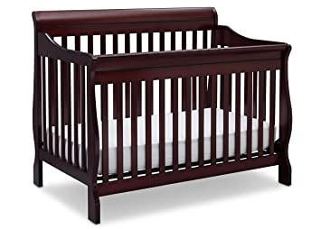 Delta Children Canton 4 In 1 Convertible Crib Espresso Cherry