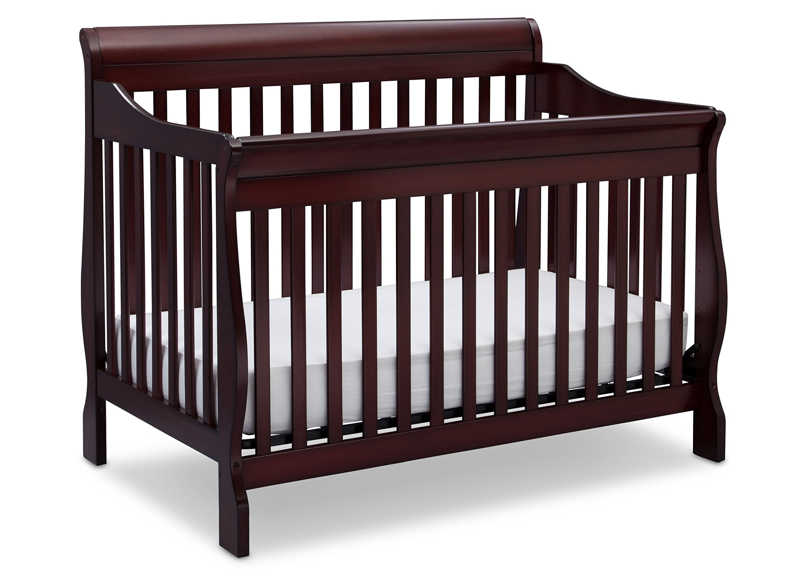 Delta Children Canton 4-in-1 Convertible Crib, Espresso Cherry by Delta Children (Image #1)
