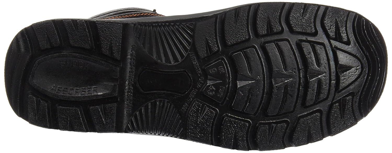 Gr/ö/ße 44 Stahlkappe- Unisex Schneestiefel /& Stiefel Farbe: schwarz Sicherheitsstiefel S3 2442-0-100-41 Stiefel
