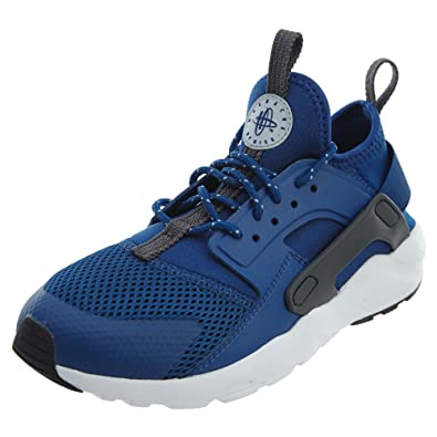 83cf25c5aec NIKE Huarache Run Ultra Little Kids  Shoes Gym Blue Wolf Grey White  859593-408 (12 M US)  Amazon.co.uk  Clothing