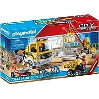 PLAYMOBIL Promo Bouwplaats met kiepwagen - 70742