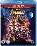 Avengers Infinity War [Blu-ray 3D + 2D BLU RAY) ] [2018] [Region Free] UK IMPORT