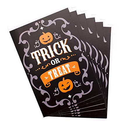 Amazon hallmark halloween cards for kids trick or treat 6 hallmark halloween cards for kids trick or treat 6 cards with envelopes m4hsunfo