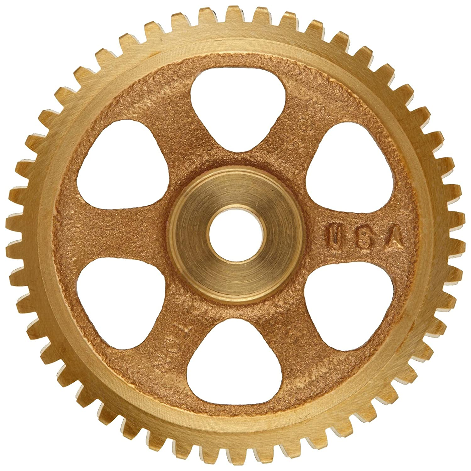 14.5 PA Pressure Angle RH 80 TEETH Spoke 0.375 Bore 80:1 Ratio Boston Gear G1046 Worm Gear