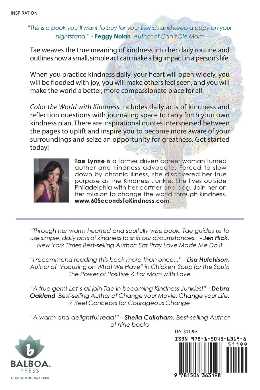 Color The World With Kindness: Tae Lynne: 9781504363198: Amazon: Books