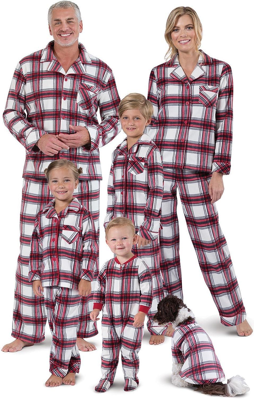 Pajamagram Christmas Pajamas For Family Fleece Matching Pajamas Red At Amazon Women S Clothing Store