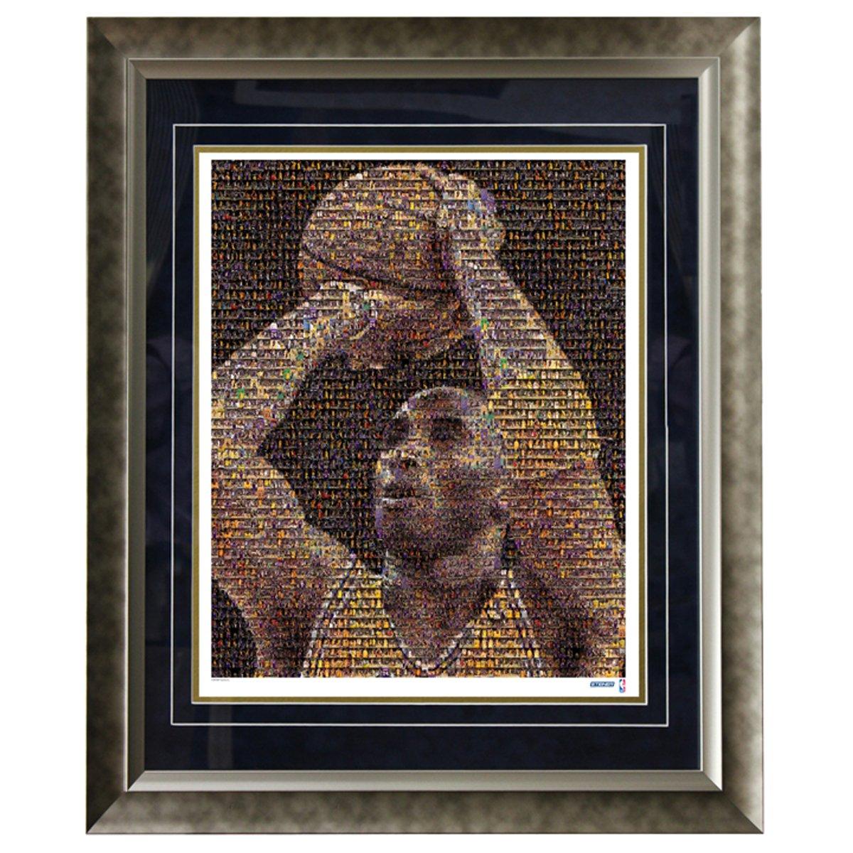 NBA Los Angeles Lakers Kobe Bryant 16x20 Mosaic Framed Photo