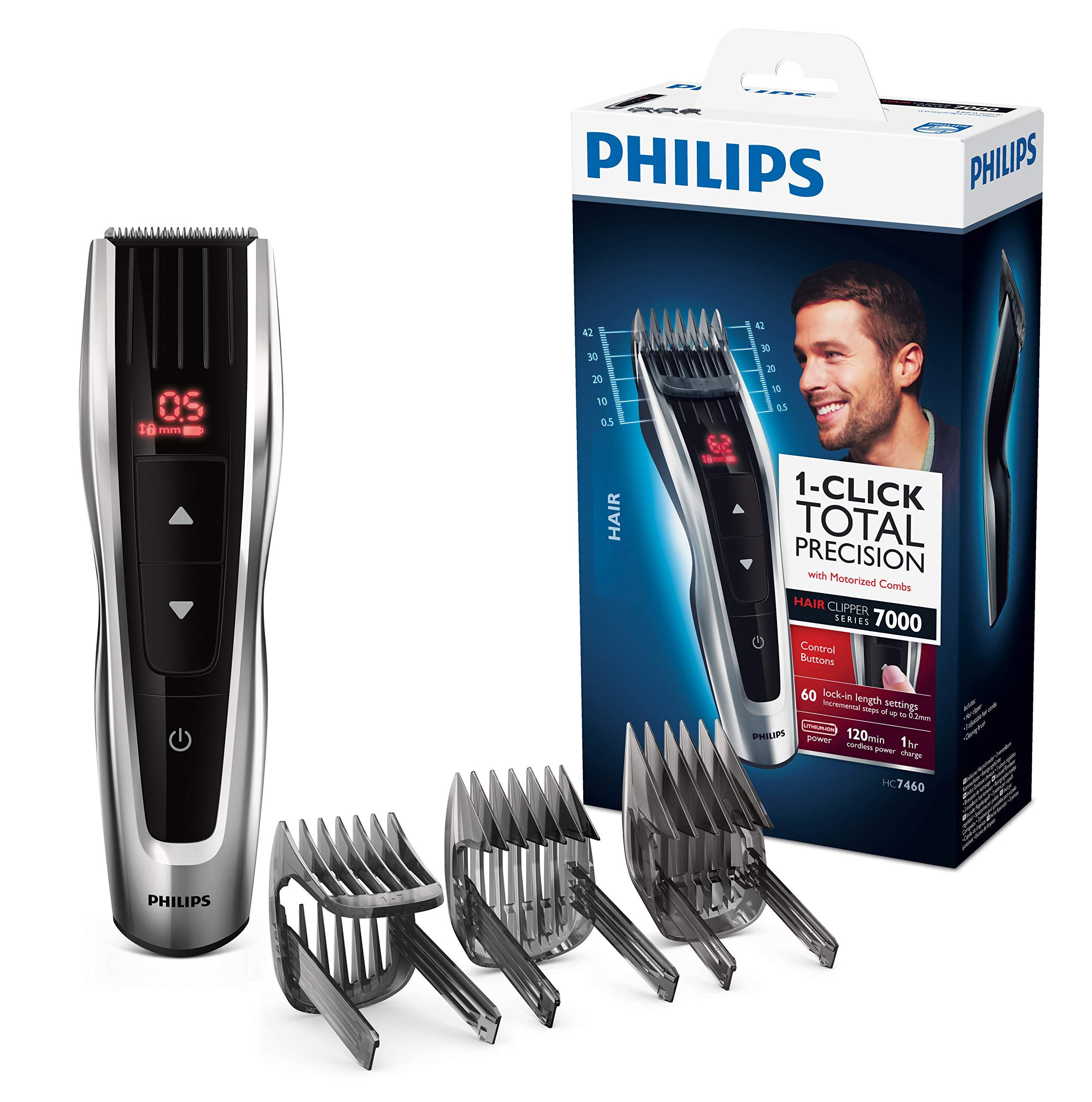 Philips HC7460/15 Tondeuse cheveux Series 7000 avec sabots motorisés product image