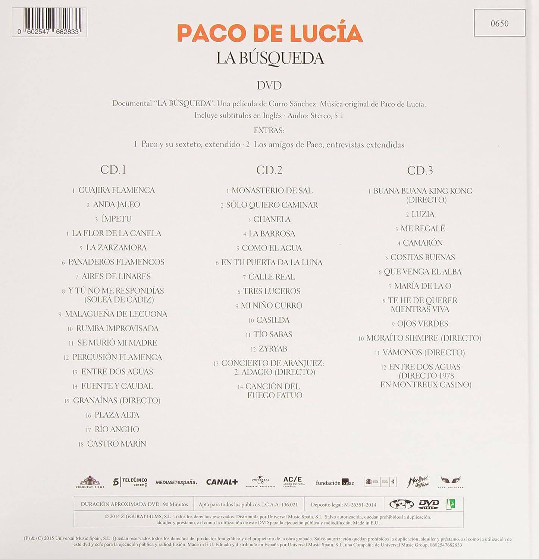 La Búsqueda - Edición Super Deluxe: Paco De Lucía: Amazon.es: Música