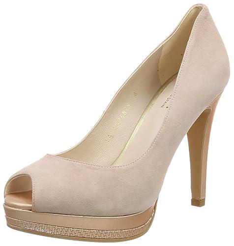 e2b4bbba lodi PASTEL-39, Zapatos de tacón con Punta Abierta para Mujer, Rosa Opac  Nude Candy, 38 EU: Amazon.es: Zapatos y complementos