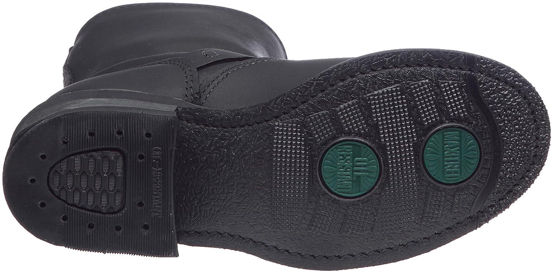 FRYE Women's Engineer 8R Ankle Boot B0040BREZ4 10 B(M) US|Black Greasy-77500
