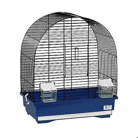 decorwelt KS8 Jaulas para pájaros, tamaño XL, Azul, Dimensiones ...