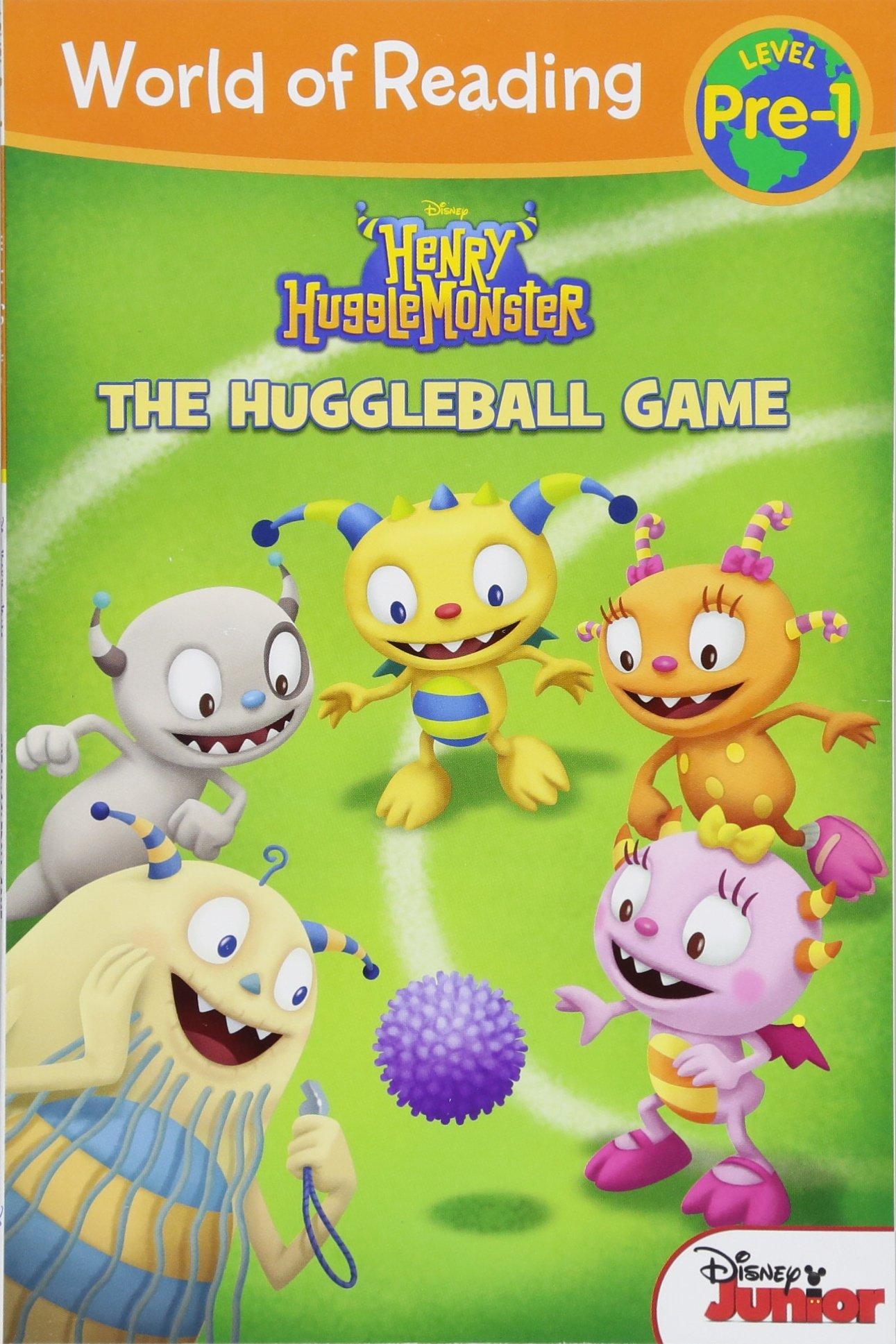 World of Reading: Henry Hugglemonster The Huggleball Game: Level Pre-1 ebook