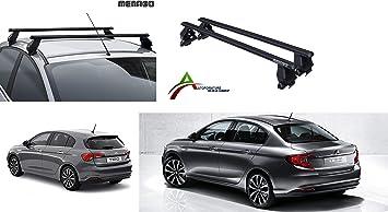BARRE FIAT 500 X 5P NO RAILS DAL 2015 IN POI BARRE NERE 130cm