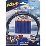 Hasbro - Nerf N-Strike Elite Vision Gear Brille con 5 Dardi