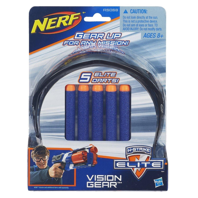 Nerf - Elite gafas y dardos (Hasbro A5068E24)