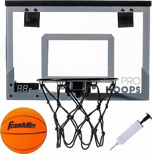 Franklin Sports Over The Door Basketball Hoop - Best Interactive Play