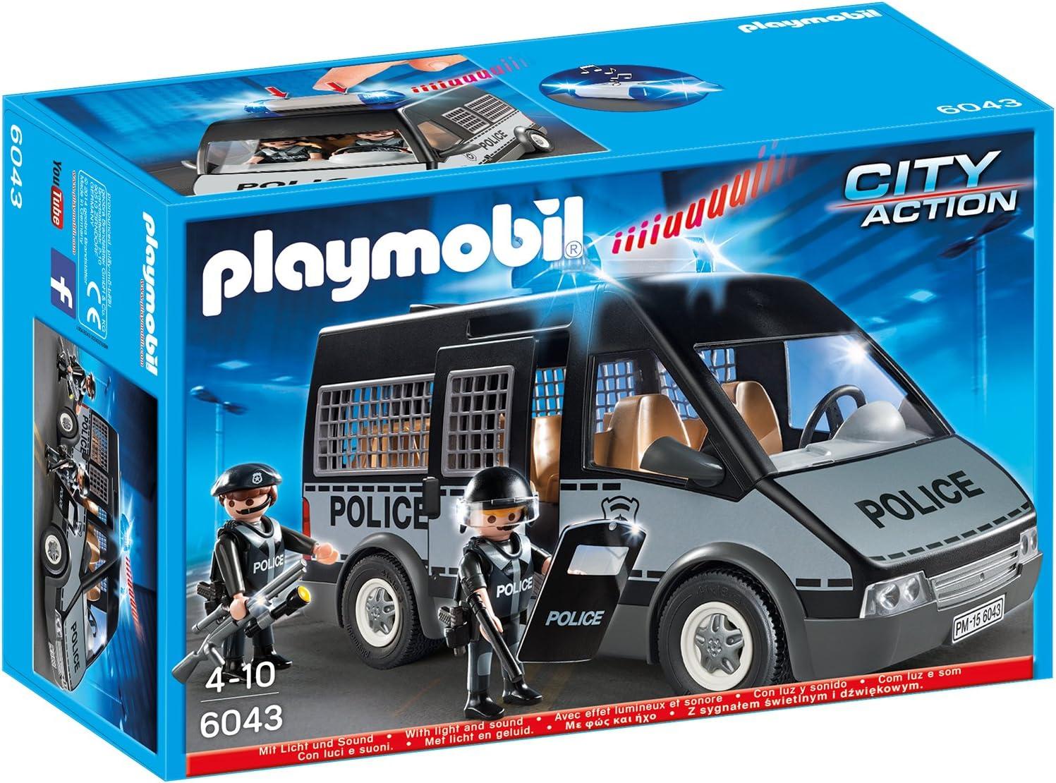 Playmobil 6043,9236,Polizei Mannschaftswagen,Sitz #3
