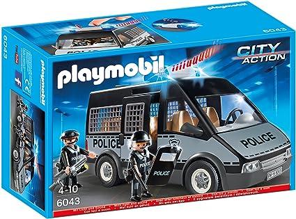 Playmobil 6043 Polizei Mannschaftswagen Mit Licht Und Sound