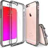 """iPhone 6 Plus Case - Ringke FUSION iPhone 6 Plus Case 5.5 """" **New** [Free HD Film/Dust&Drop Protection][SMOKE BLACK] iPhone 6 Plus Case Shock Absorption Bumper Premium Hybrid Hard Case for Apple iPhone 6 Plus 5.5 Inch - Eco/DIY Package"""