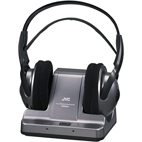 JVC HAW600RF Auricular - Auriculares (Circumaural, Diadema, RF, Negro, 25-