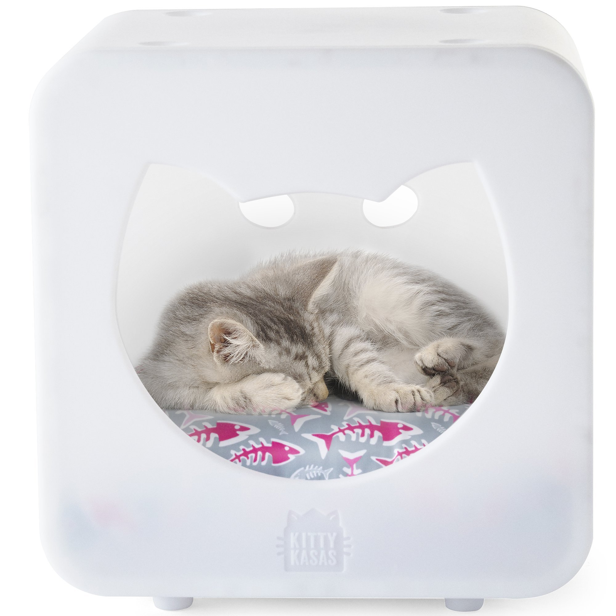 Kitty Kasas Bedroom Cube Cat House