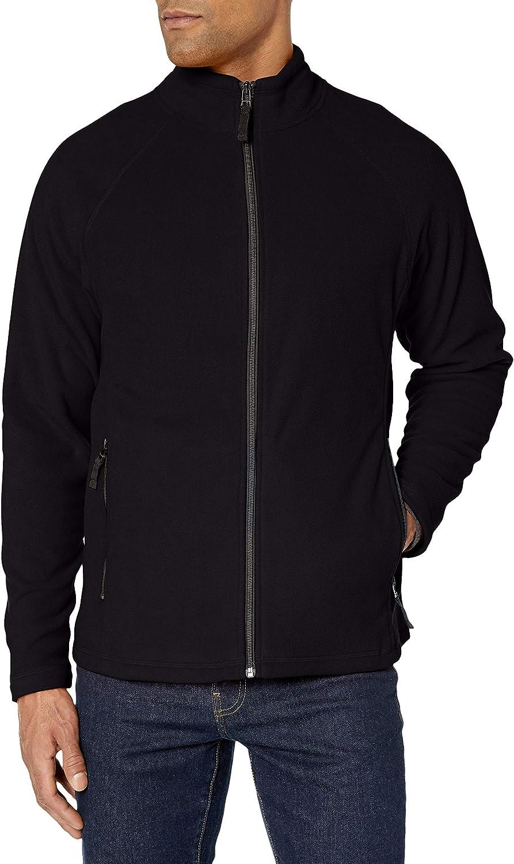 Clique Mens Summit Full-Zip Microfleece Vest