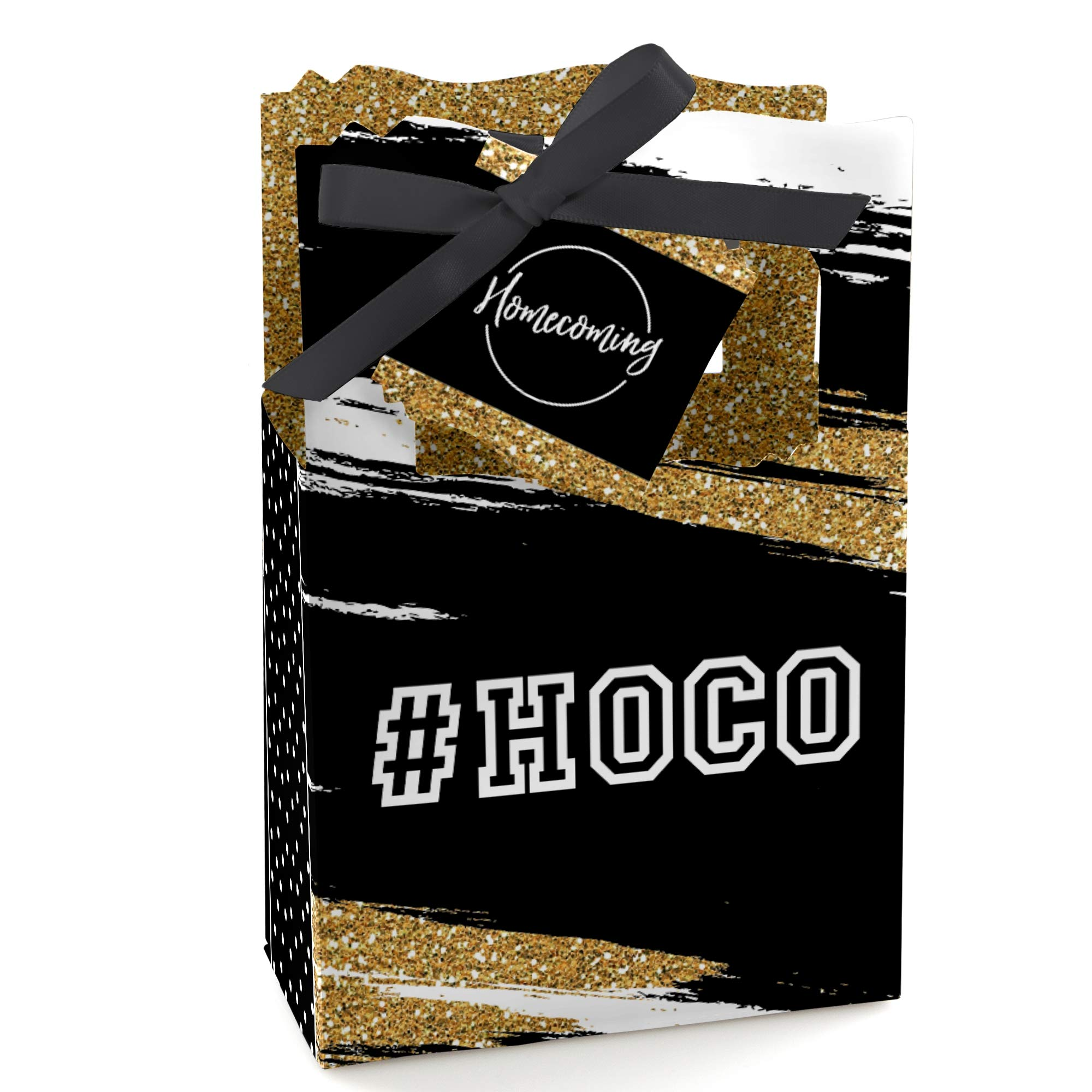 HOCO Dance - Homecoming Party Favor Boxes - Set of 12