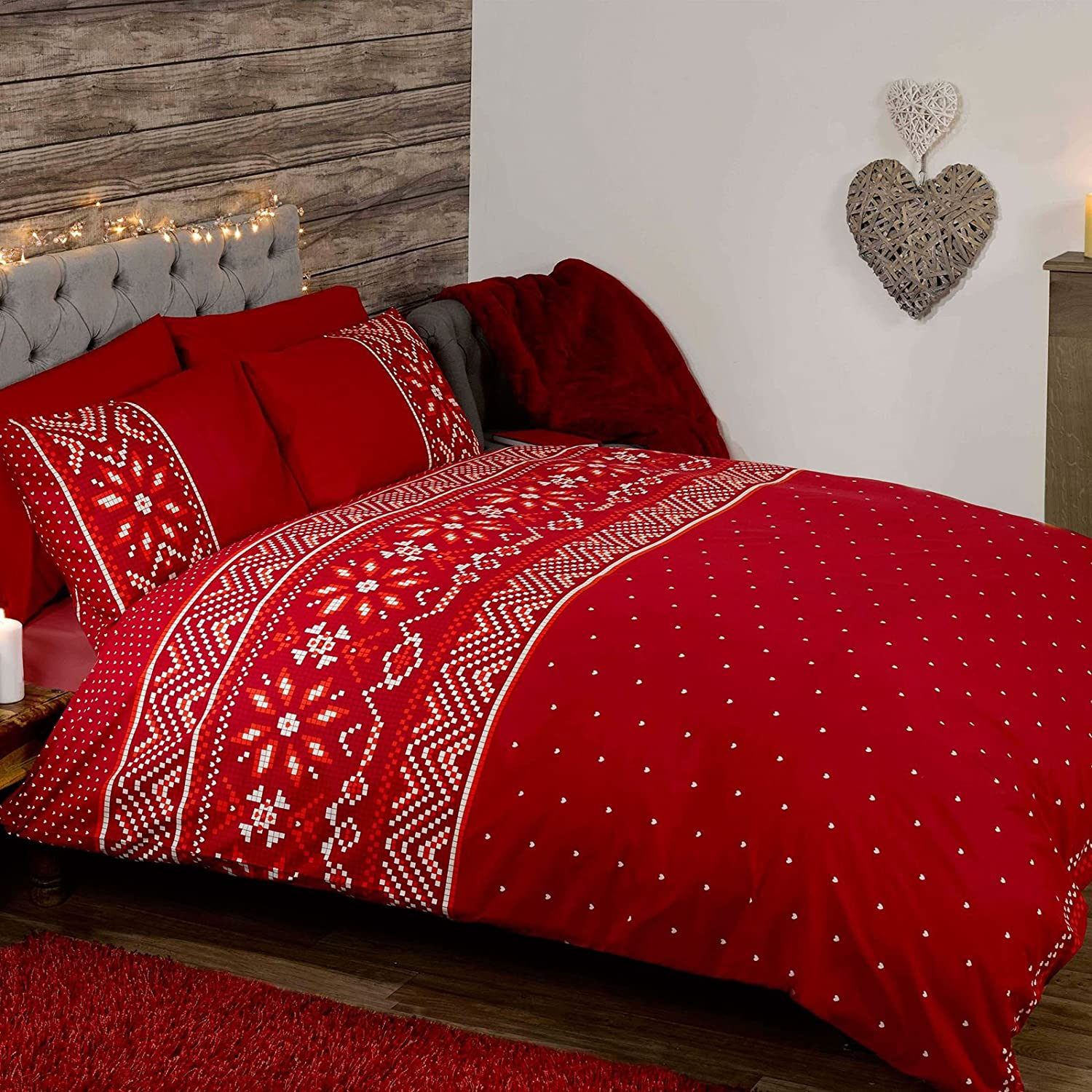 duvet designed red concepts cover amadora twin products