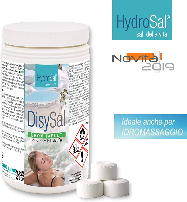 HYDROSAL Bromo Lento en Pastillas de 20 g. - DisySal Brom Tablet 1 ...