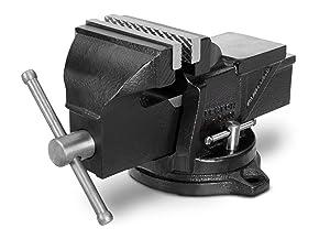 TEKTON 4-Inch Swivel Bench Vise | 54004