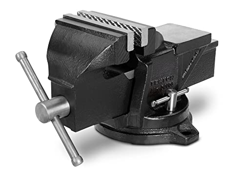TEKTON 4-Inch Swivel Bench Vise | 54004