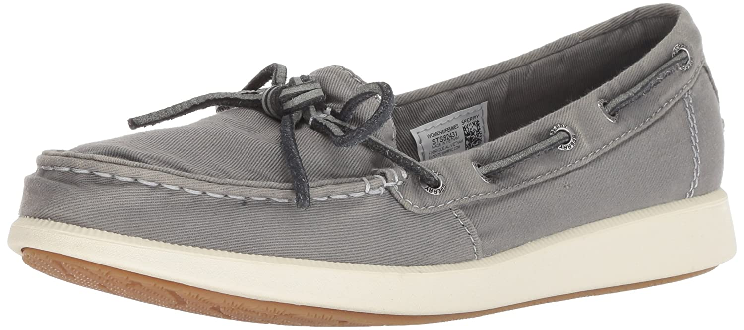 0a7740b3361d Amazon.com | SPERRY Women's Oasis Canal Canvas Boat Shoe | Fashion Sneakers
