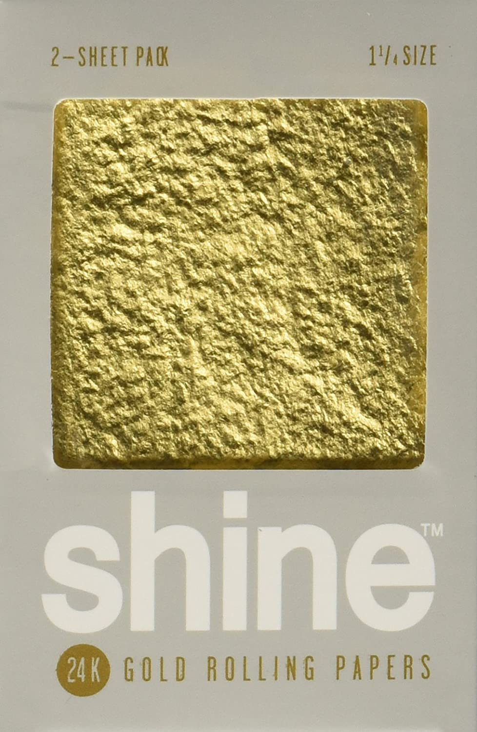 Shine Ranking integrated 1st place 24K Gold Rolling Sheet Pack Papers Clearance SALE! Limited time! 2