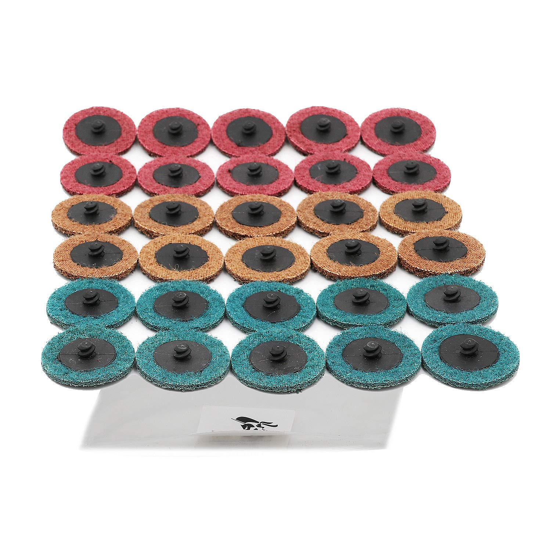 Surface Condition Disc 30 Pcs ECO EDGE 2 Sanding Disc Set Quick Change Disc