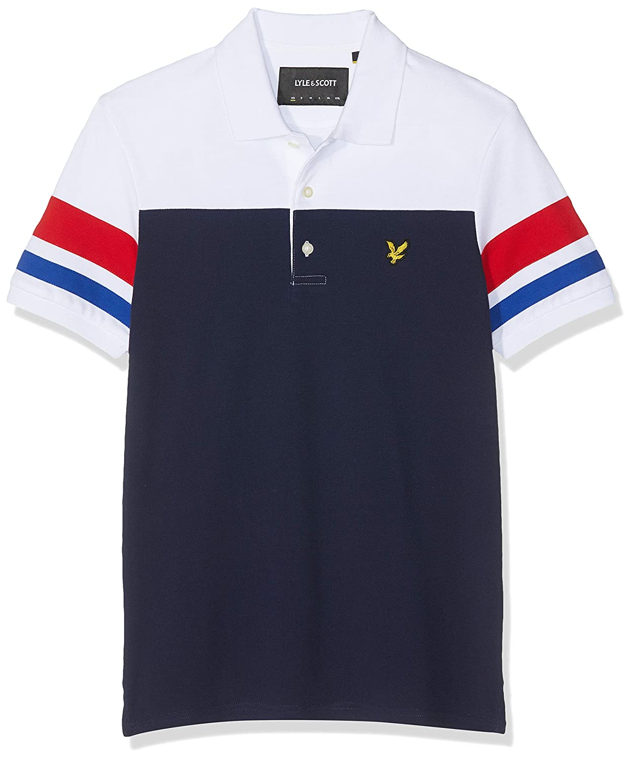 Lyle & Scott Contrast Band Polo Shirt Hombre: Amazon.es: Ropa y ...