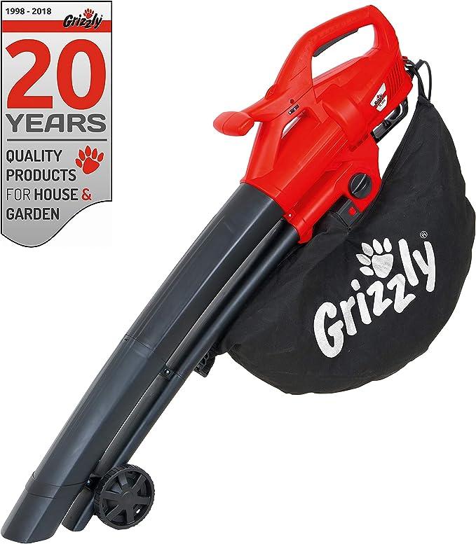 Grizzly Eléctrico - Soplador, aspirador y triturador de hojas ...