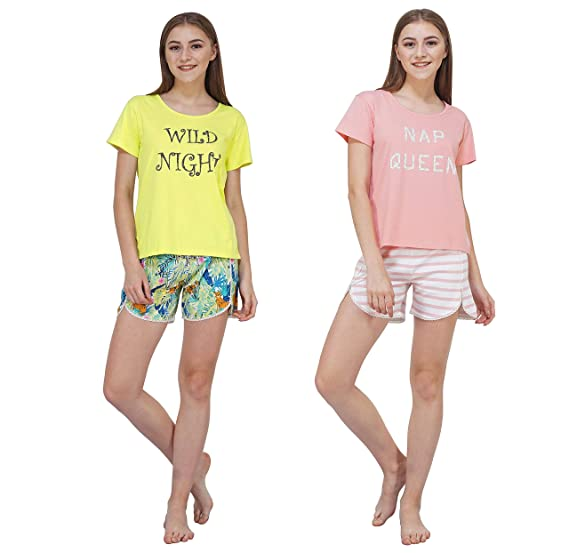 night shorts for women