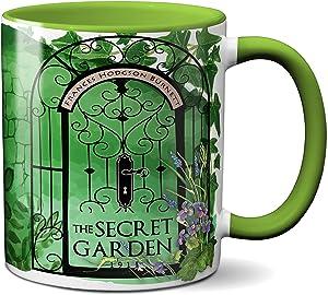 The Secret Garden by Frances Hodgson Burnett Mug. Coffee Mug with The Secret Garden book design, Literature Mug, Book Mug, Bookish Mug, Book Lover Mug