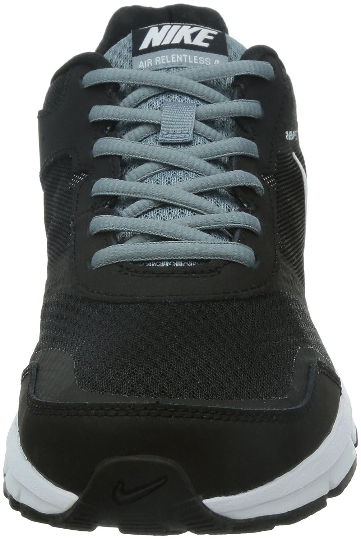 newest 577a2 c7d31 Nike Air Relentless 4, Chaussures de Running Entrainement Homme, Noir Blanc  Gris (Black White-Magnet Grey), 45 EU  Amazon.fr  Chaussures et Sacs