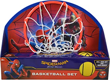Marvel Ultimate Spiderman 135 X 10quot Basketball Set QuotBall Hoop