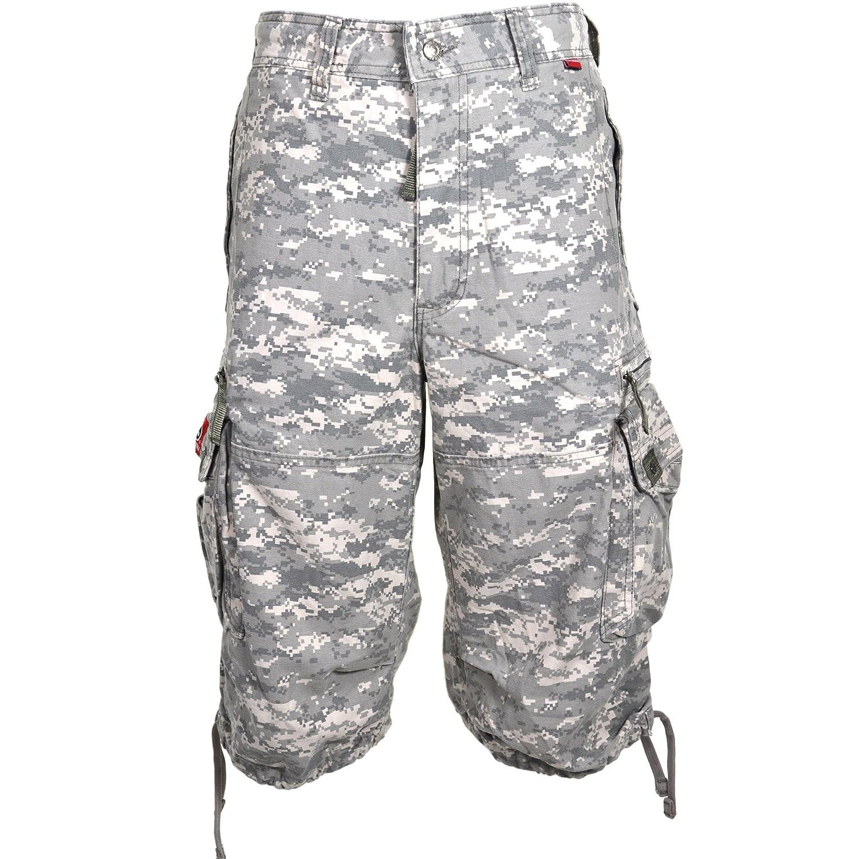 Molecule Pantalones cortos a la rodilla Shorts 45056-100% Algodón Pantalons tipo militar