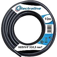 Electraline 11761, Cable para Extensiones Eléctricas H05VV-F, Sección