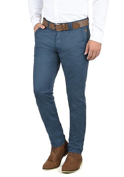 982a28836016d Blend Tromp Pantalón Chino Pantalones De Tela para Hombre De 100% algodón  Regular-Fit